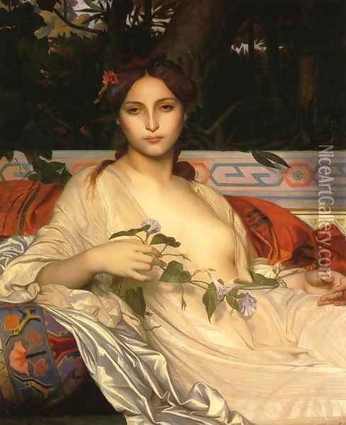 Albayde Oil Painting - Alexandre Cabanel