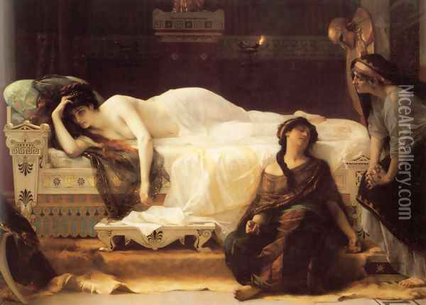 Phedre Oil Painting - Alexandre Cabanel