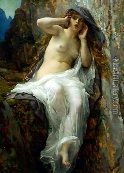 Echo Oil Painting - Alexandre Cabanel