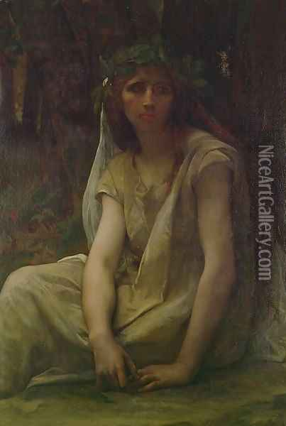 A Druidess 1868 Oil Painting - Alexandre Cabanel