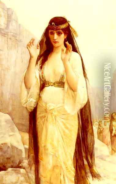 The Daughter Of Jephthah Oil Painting - Alexandre Cabanel