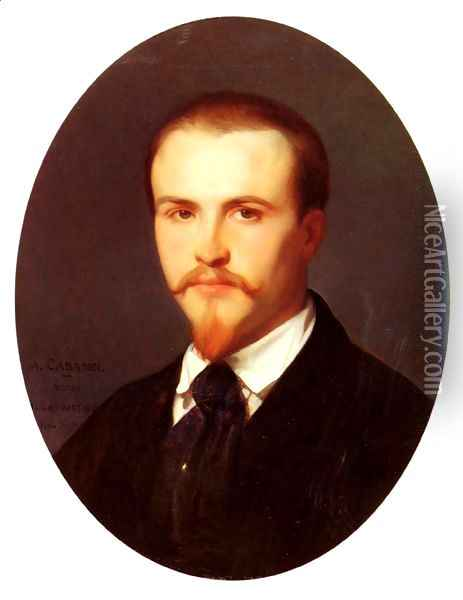 Self Portrait Oil Painting - Alexandre Cabanel