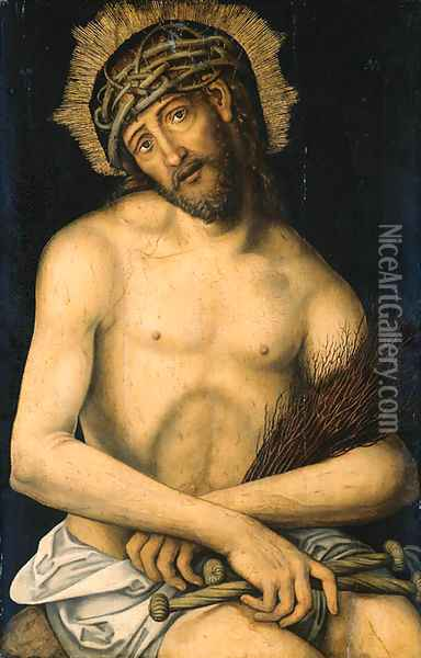 Christ Oil Painting - Lucas The Younger Cranach