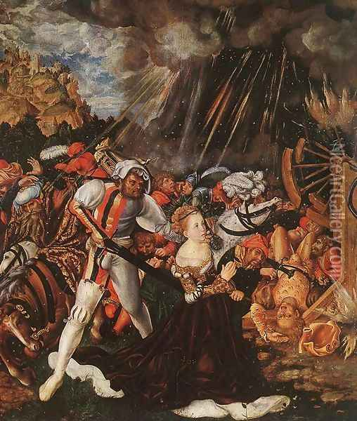 The Martyrdom of St Catherine 1504-05 Oil Painting - Lucas The Elder Cranach