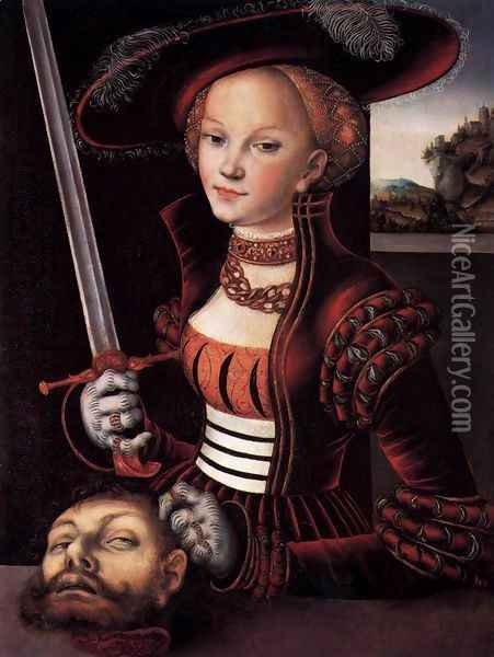 Judith Victorious Oil Painting - Lucas The Elder Cranach
