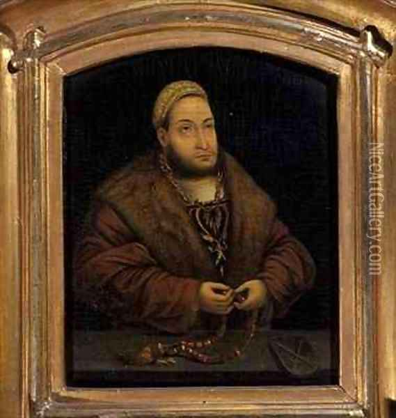 Elector Frederick the Wise Oil Painting - Lucas The Elder Cranach