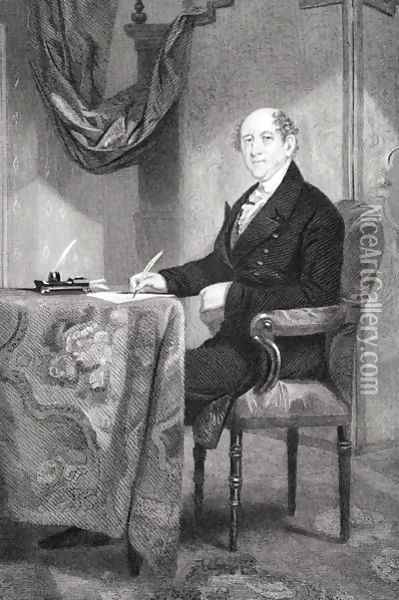 Rufus King (1755-1827) Oil Painting - Alonzo Chappel