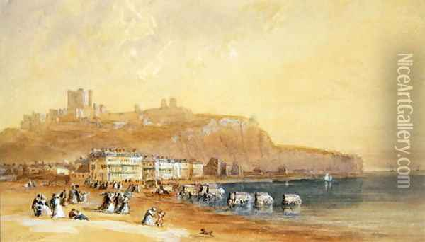 Dover 1832 Oil Painting - David Cox