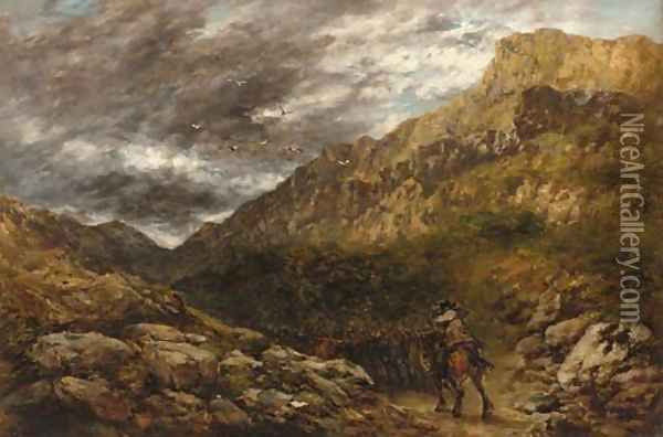 The coming storm Oil Painting - David Cox