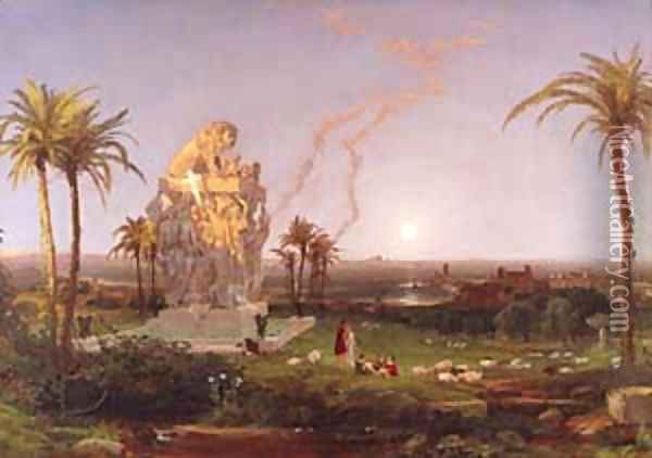 The Millennial Age 1854 Oil Painting - Jasper Francis Cropsey