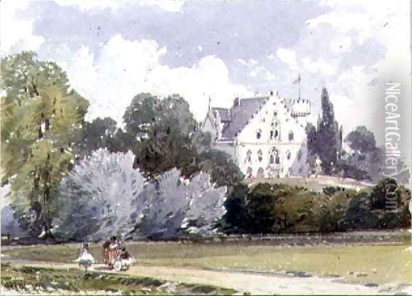 Souvenirs of Rosenau, the birthplace of HRH The Prince Consort, Husband of Queen Victoria (2) Oil Painting - William Callow