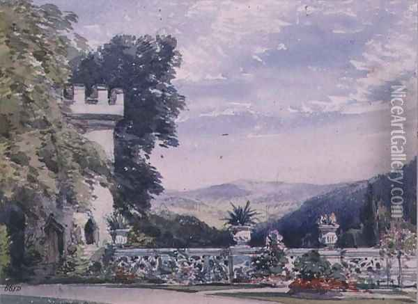 Souvenirs of Rosenau, the birthplace of HRH The Prince Consort, Husband of Queen Victoria (4) Oil Painting - William Callow