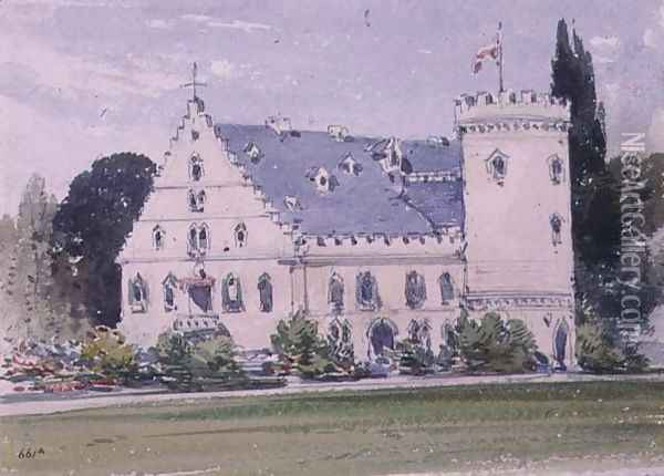 Souvenirs of Rosenau, the birthplace of HRH The Prince Consort, Husband of Queen Victoria (1) Oil Painting - William Callow
