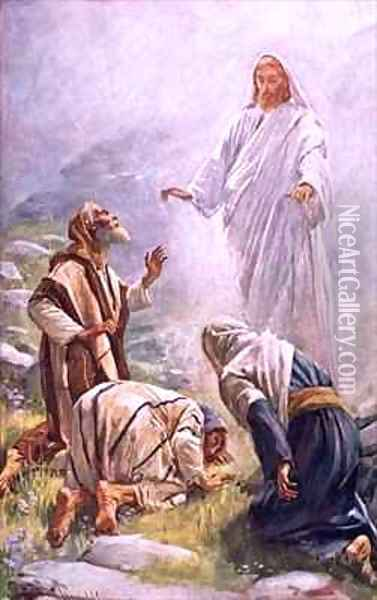 The transfiguration Oil Painting - Harold Copping