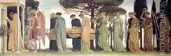 The Death of the Year Oil Painting - Walter Crane