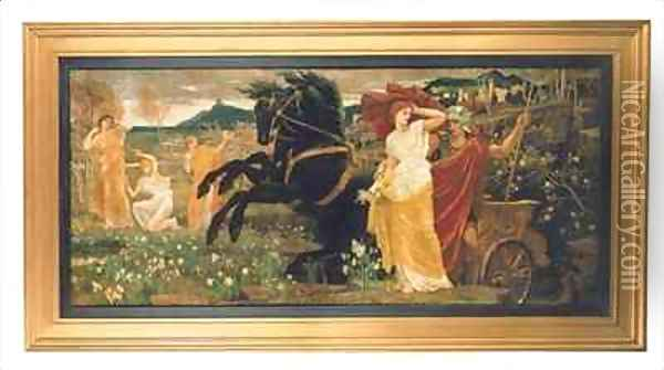 The Fate of Persephone Oil Painting - Walter Crane