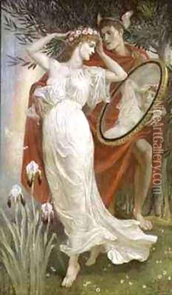Art And Life Oil Painting - Walter Crane