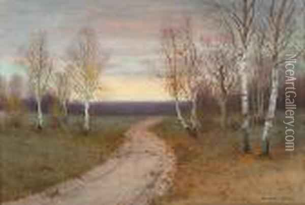 Luminous Landscape Oil Painting - George Howell Gay