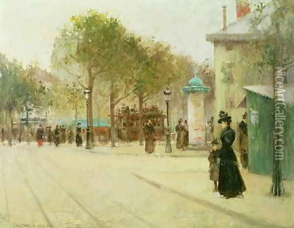 Paris, 1892 Oil Painting - Paul Cornoyer