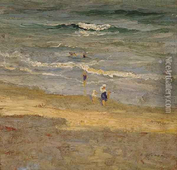 The Incoming Tide Oil Painting - Elioth Gruner