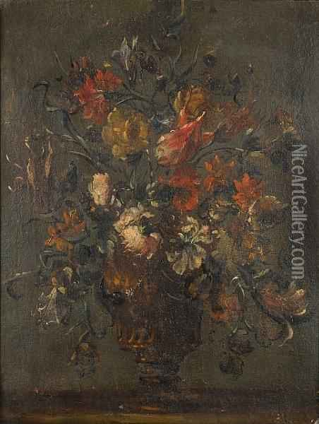 Tulips, Chrysanthemums, Roses 