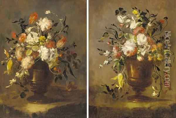Roses, Tulips, Narcissi And 