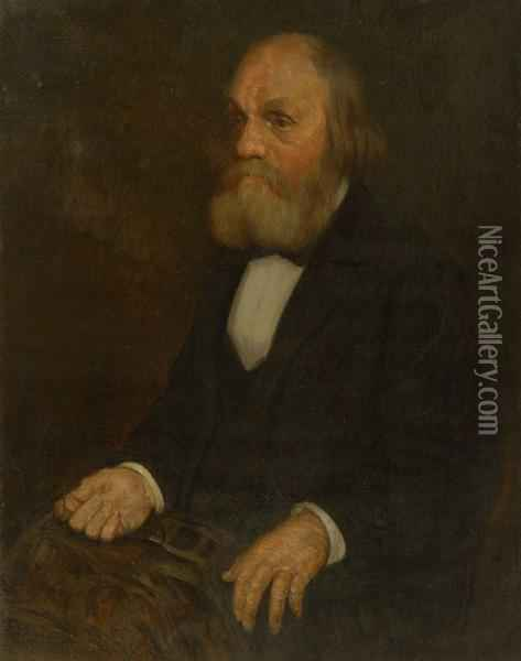 Portrait Of Edward Everett Oil Painting - Philip Leslie Hale