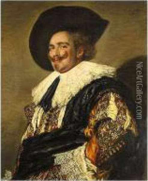 The Laughing Cavalier Oil Painting - Frans Hals