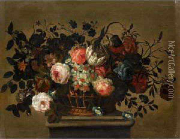 A Flower Still Life With A 