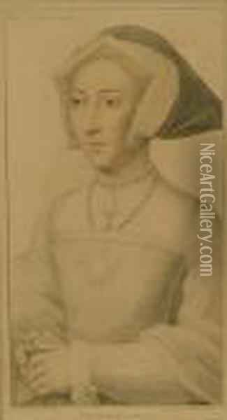 The Duchess Of Suffolke Oil Painting - Hans Holbein the Younger