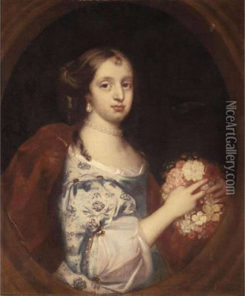 Portrait Of A Young Lady, Half 
