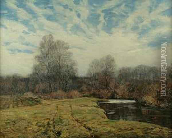 Road To The Woods Oil Painting - Wilson Henry Irvine