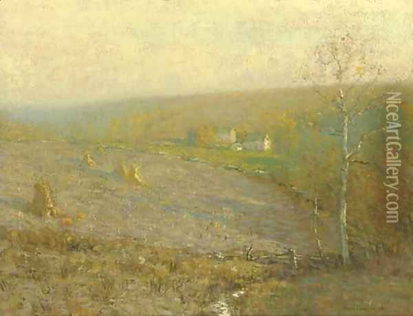 The South Wind Oil Painting - Bruce Crane