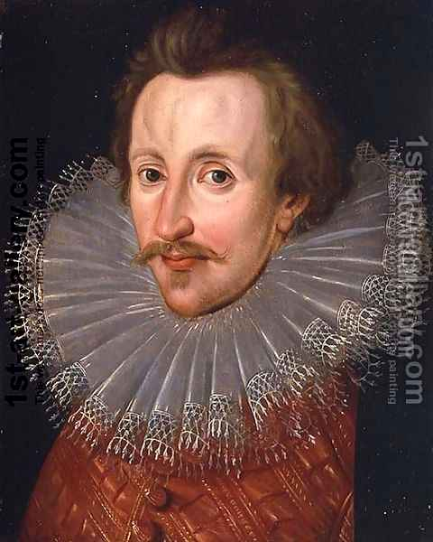 Portrait of Sir Philip Sidney (1554-86) c.1620 Oil Painting - John de, the Elder Critz