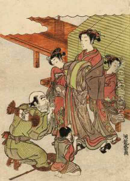A Design Of A Courtesan 