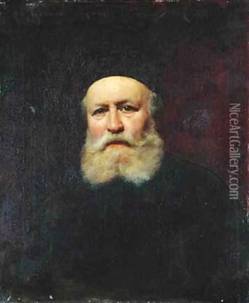 Portrait of Charles Gounod 1818-93 Oil Painting - Charles Emile Auguste Carolus-Duran
