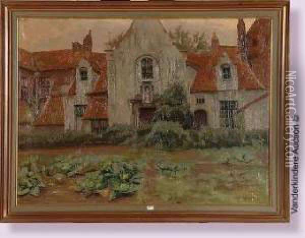 Coin De Beguinage Oil Painting - Paul Leduc