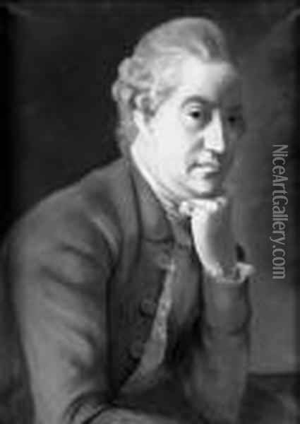 James Hamilton, 2nd Earl Of Clanbrassil Oil Painting - Etienne Liotard