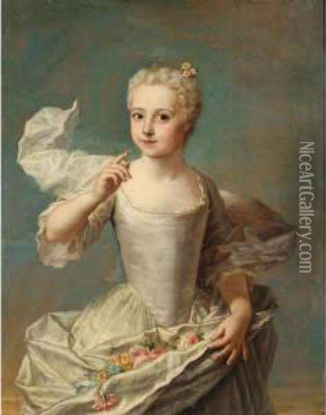 Portrait Of Jacquette Colombe De