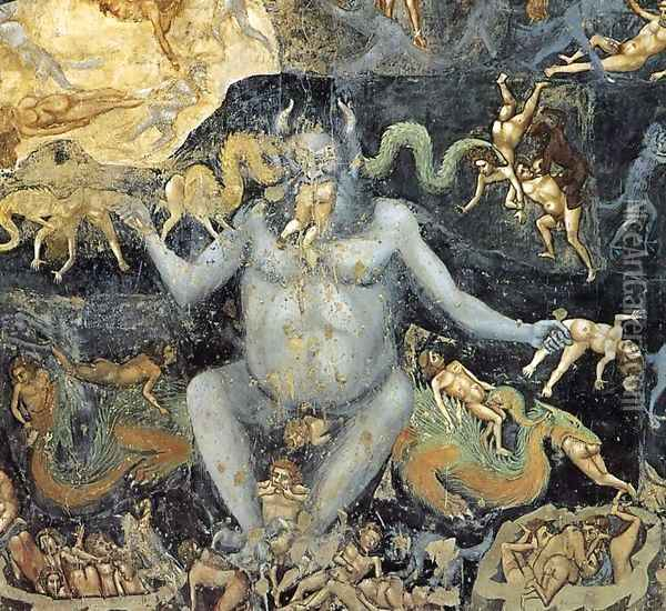 Last Judgment (detail 14) 1306 Oil Painting - Giotto Di Bondone