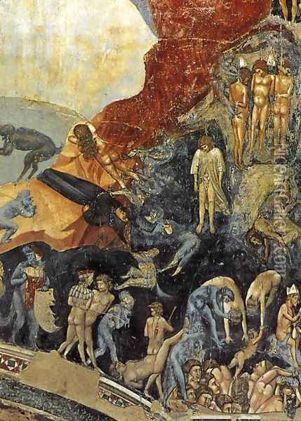 Last Judgment (detail 13) 1306 Oil Painting - Giotto Di Bondone