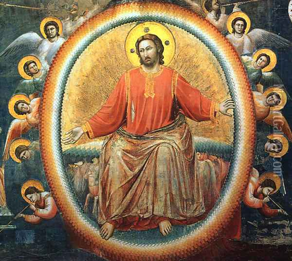 Last Judgment (detail 4) 1306 Oil Painting - Giotto Di Bondone