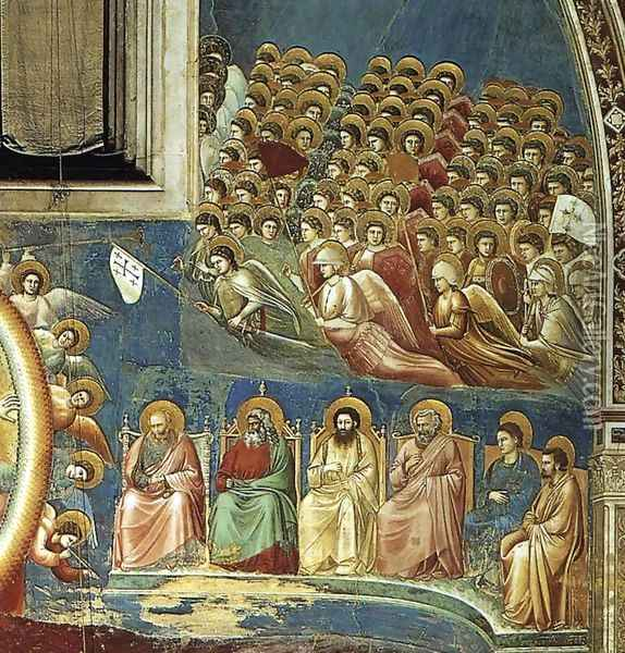 Last Judgment (detail 3) 1306 Oil Painting - Giotto Di Bondone