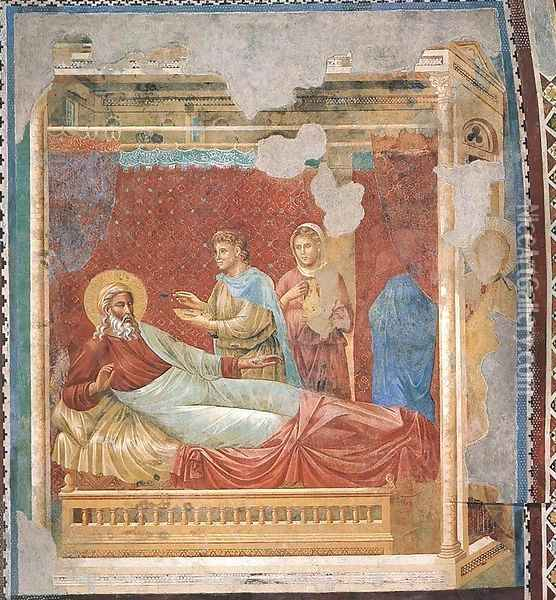Scenes from the Old Testament 2 Oil Painting - Giotto Di Bondone