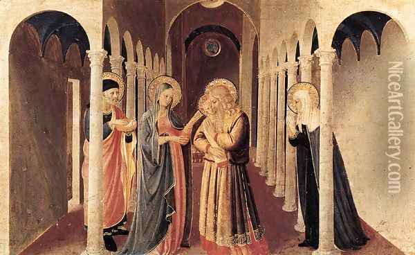 The Presentation of Christ in the Temple Oil Painting - Giotto Di Bondone