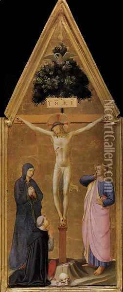 Crucifixion Oil Painting - Giotto Di Bondone