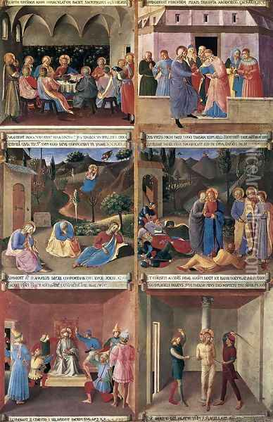 Paintings for the Armadio degli Argenti 2 Oil Painting - Giotto Di Bondone