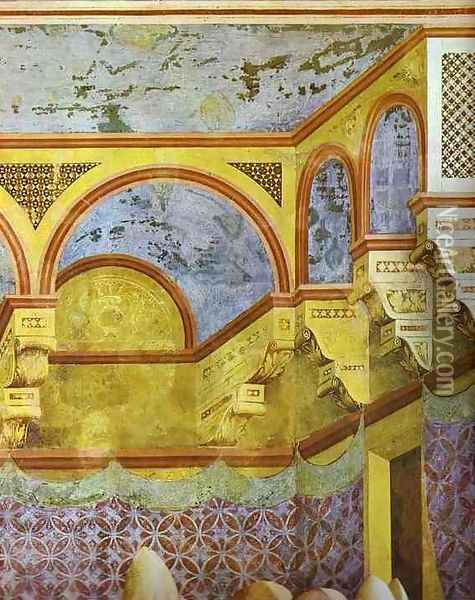 The Confirmation Of The Rule Detail 1295-1300 Oil Painting - Giotto Di Bondone