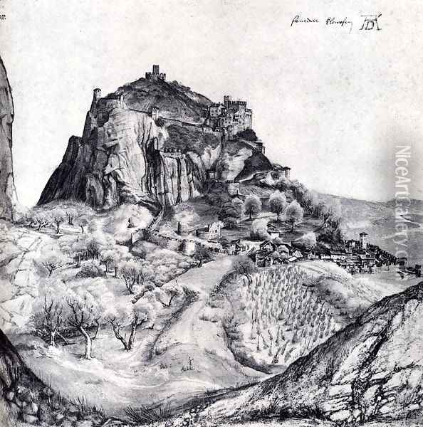 The Citadel Of Arco In The South Tyrol Oil Painting - Albrecht Durer