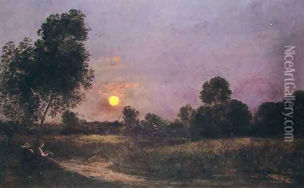Unknown Oil Painting - Charles-Francois Daubigny